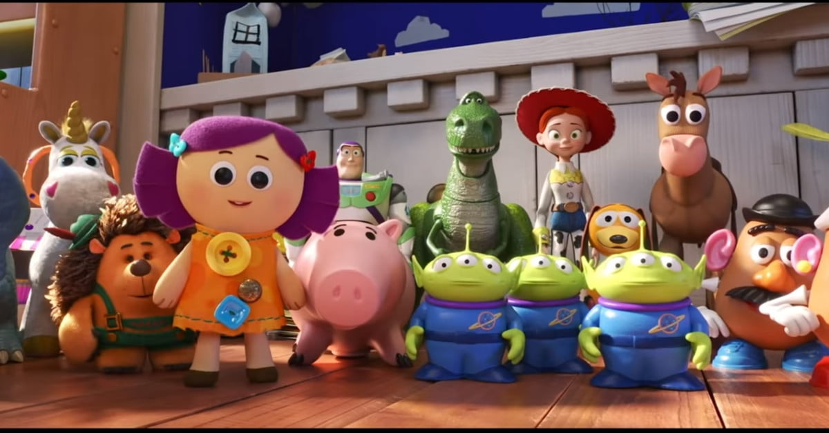 Low Budget Toy Story Remake Using Original Soundtrack And