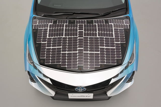 toyota has covered a prius in solar cells to add 27 miles its range 9