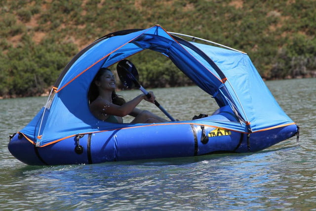 traft tent packraft hybrid 1 & Traft is a floating tent-raft combo that has to be seen to be believed