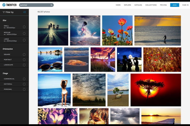 twenty20 wants to be the getty of mobile photography web search results