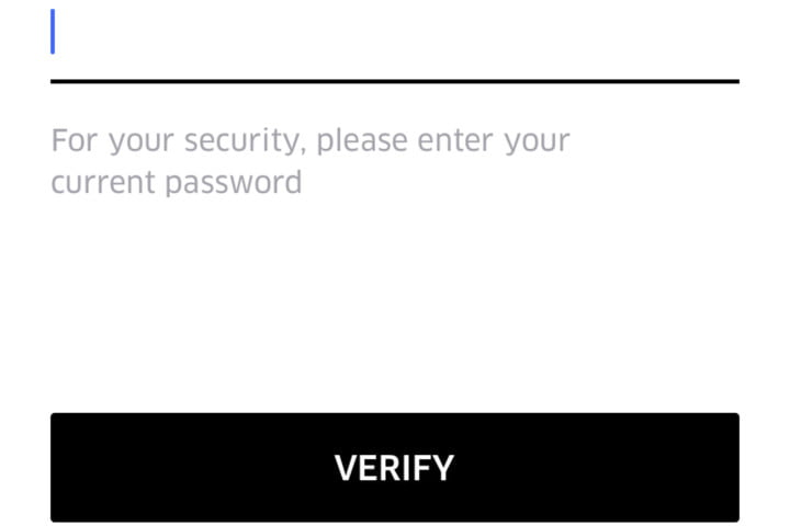 how to delete your uber account uberverifypassword