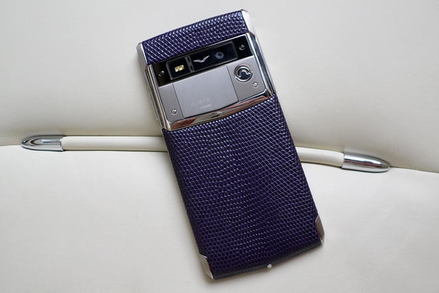 Vertu Signature Touch back leather