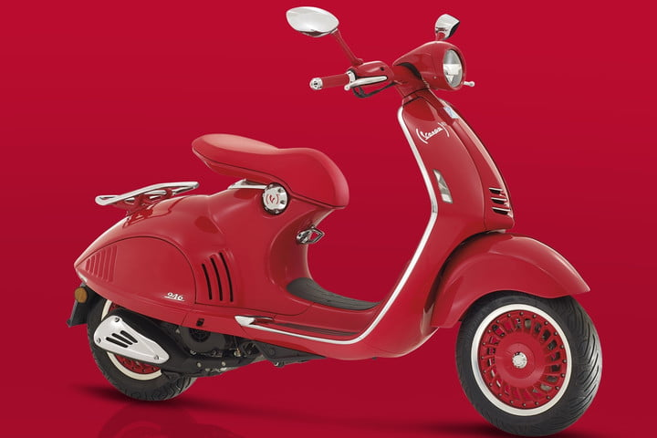 buying your first motorcycle everything you need to know vespa 946 red