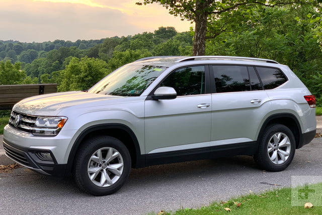 volkswagen atlas review finally  properly americanized vw digital trends