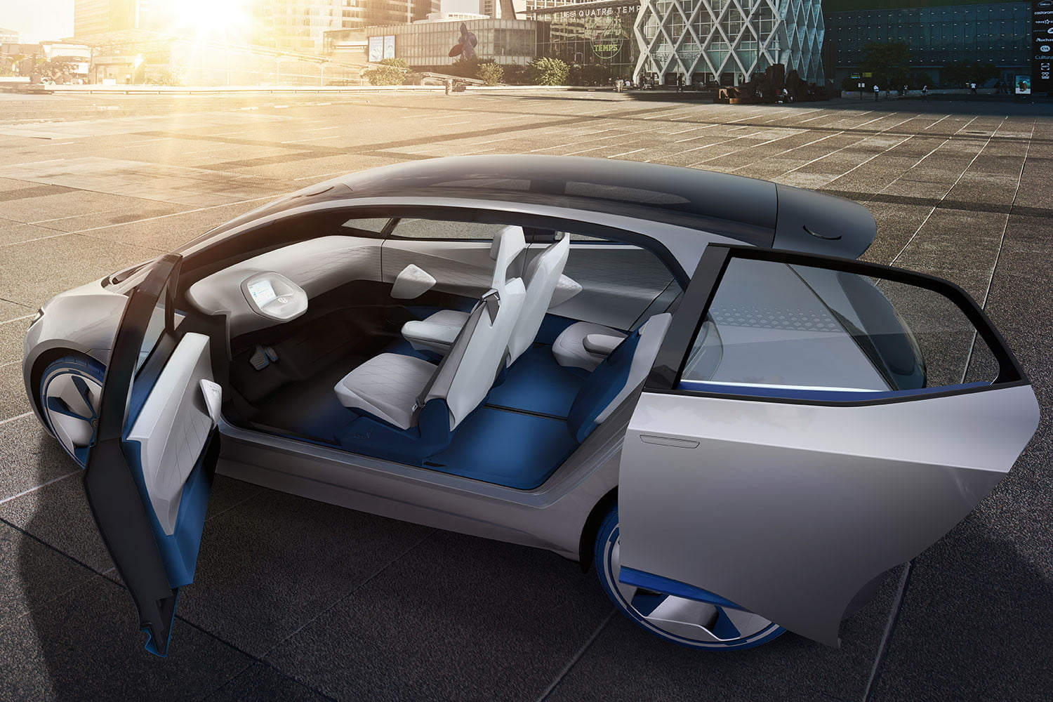 In Terms Of Exterior Design The I D Concept Has A Familiarly Futuristic Look To It S Part Le Fixture And Tron Light Cycle