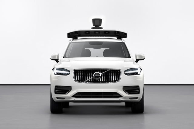 volvo uber unveil xc90 based self driving car prototype cars and present production vehicle ready for