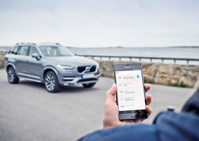 Volvo On Call application