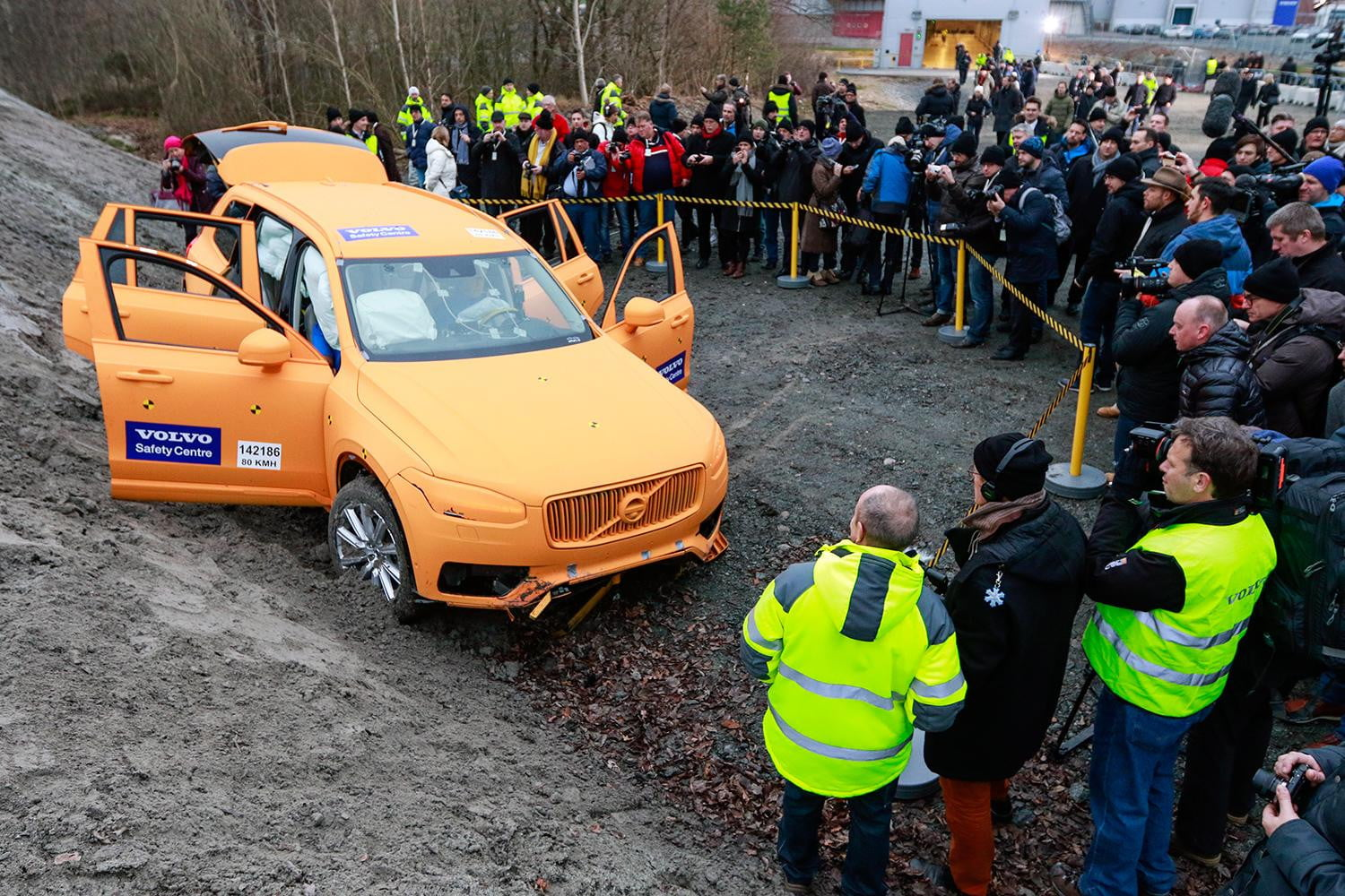 Volvos XC90 and the road to zero traffic fatalities and injuries
