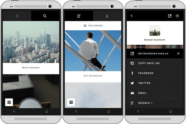 vsco cam photo app android adds discovery feature called grid 3