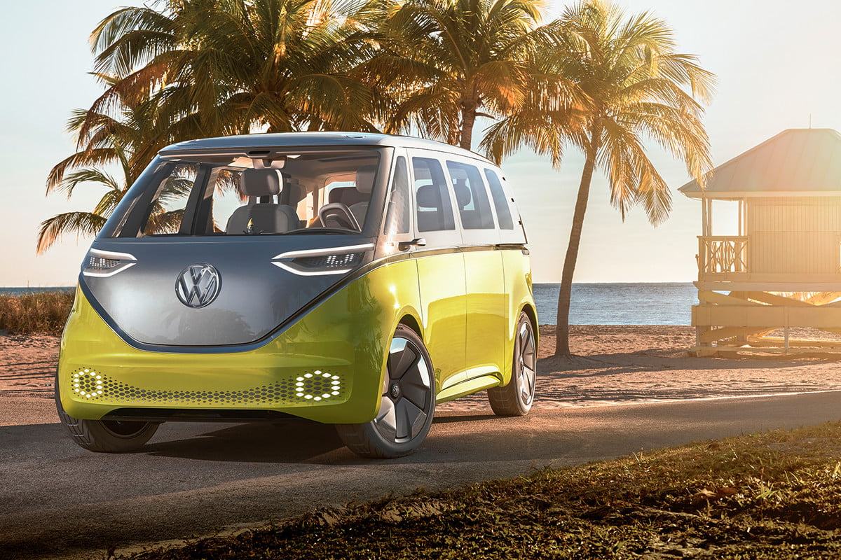 The Volkswagen Buzz