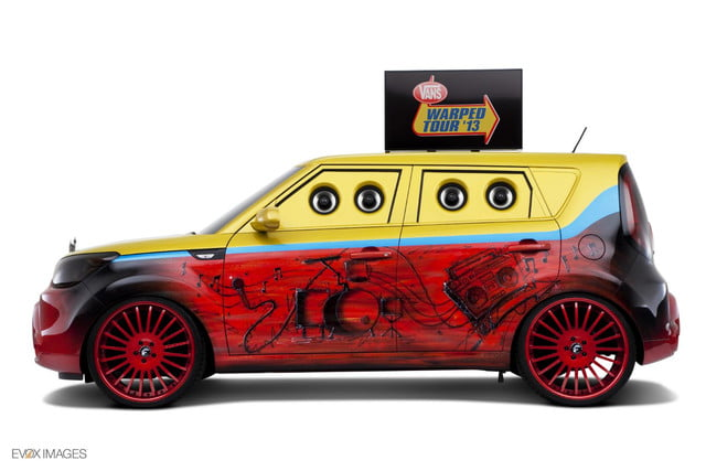 first hamsters now kia creates gaudy area music themed souls sema warped tour
