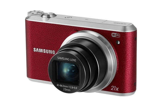 samsung ces 2014 point and shoot cameras wb350f 005 right angle red
