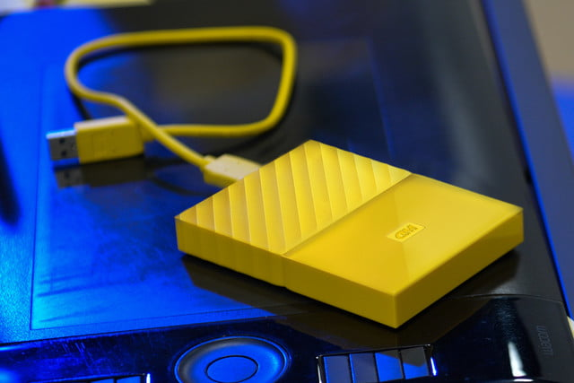 western digital releases redesigned portable hard drives wd mypassport yellow designer