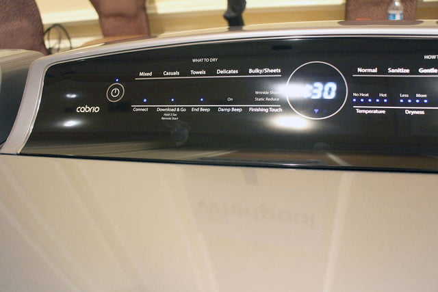 Whirlpool Smart Washer and Dryer 4