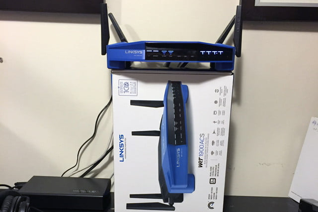 Moving the router: Configuration 3