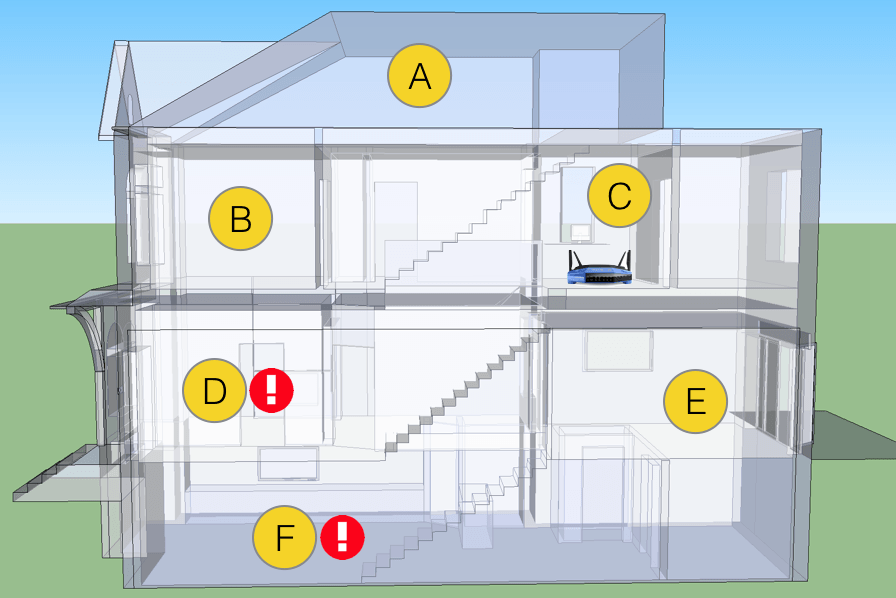 does moving your router around boost your wifi signal digital wifi house diagram 1