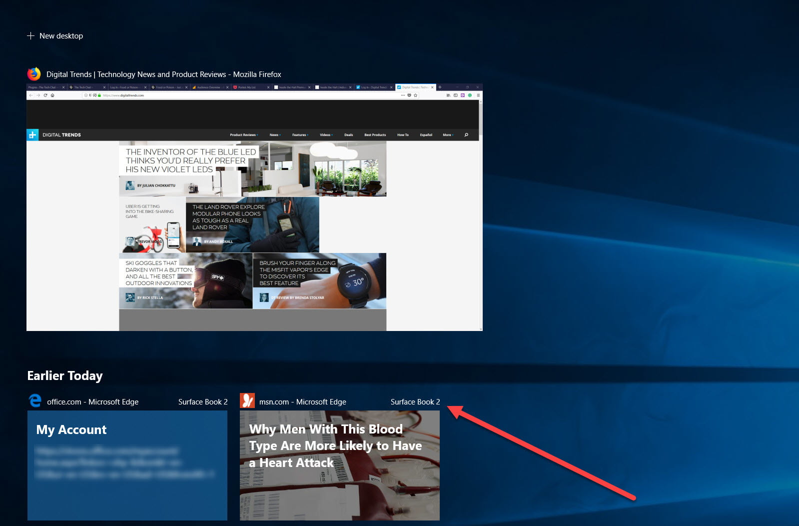 how to use windows timeline digital trends
