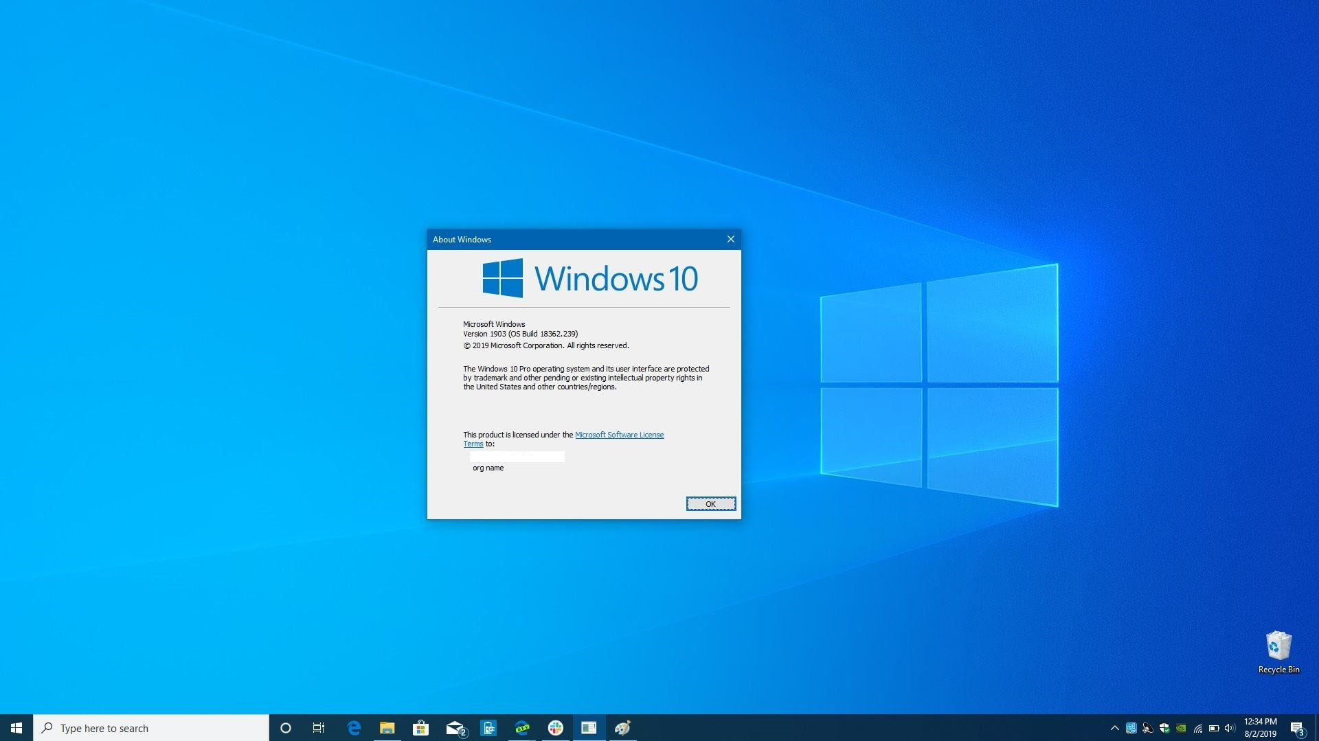 Download Windows 10 Pro 1909 Build 18363.476 Desember 2019