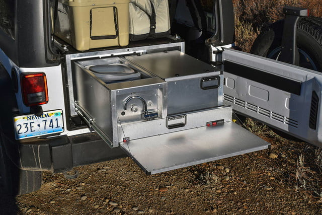 Any Suv Becomes Part Camper With This Portable Kitchen For Your