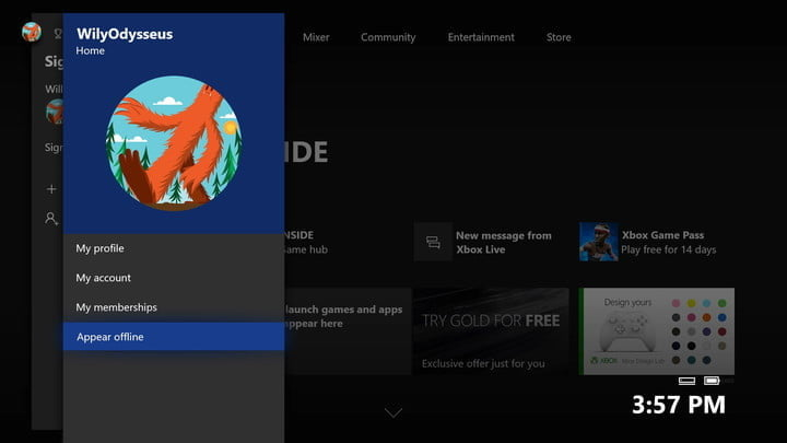How To Appear Offline On Xbox One Digital Trends