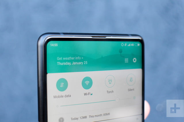 Xiaomi Mi Mix 2 Review settings