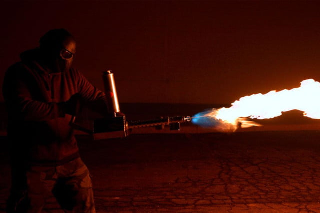 XM42 Flame thrower 2