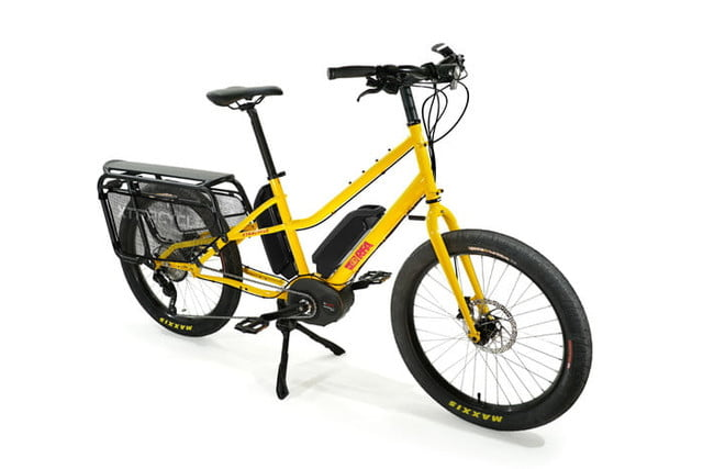 xtracycle rfa electric bike utility yellow